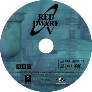 Red Dwarf - Červený trpaslík S5 - DVD
