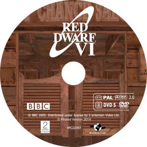 Red Dwarf - Červený trpaslík S6 - DVD