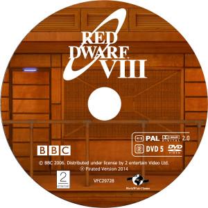 Red Dwarf - Červený trpaslík S8 - DVD