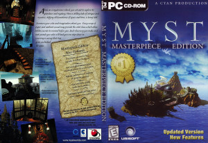 MYST: Masterpiece Edition Cover